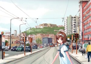 Rating: Safe Score: 8 Tags: aida_yuu gunslinger_girl henrietta_(gunslinger_girl) seifuku User: Radioactive
