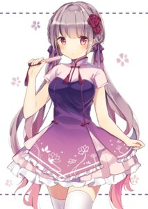 Rating: Safe Score: 77 Tags: dress kanadetsuki_shion thighhighs User: Mr_GT