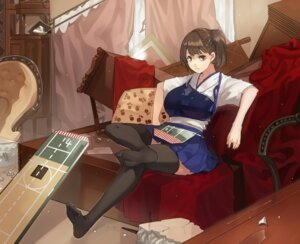 Rating: Safe Score: 25 Tags: crossover fate/stay_night feet kaga_(kancolle) kantai_collection muneneko thighhighs User: kamiomisuzu