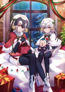 Rating: Safe Score: 48 Tags: christmas fate/grand_order heels jeanne_d'arc jeanne_d'arc_(alter)_(fate) jeanne_d'arc_alter_santa_lily shiguru thighhighs User: RyuZU