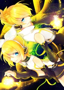 Rating: Safe Score: 8 Tags: headphones kagamine_len kagamine_rin len_append renta rin_append vocaloid User: charunetra