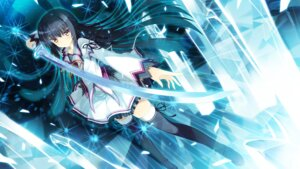 Rating: Safe Score: 61 Tags: eufonie game_cg kamishiro_touko koiken_otome sword tateha thighhighs User: WtfCakes