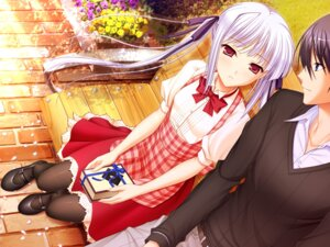 Rating: Safe Score: 43 Tags: game_cg komori_kei lisa_eostre mizuno_takahiro pantyhose ricotta walkure_romanze User: Mr_GT