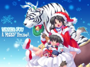 Rating: Safe Score: 8 Tags: animal_ears aruruu chibi christmas eruruu hakuoro jpeg_artifacts kamyu karura mukkuru oboro touka urutori utawarerumono wallpaper zen User: KiNAlosthispassword