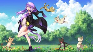 Rating: Safe Score: 44 Tags: dress heels lim neko open_shirt vocaloid wallpaper yuzuki_yukari User: Mr_GT