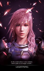 Rating: Safe Score: 30 Tags: aliasing armor cg final_fantasy final_fantasy_xiii final_fantasy_xiii-2 lightning square_enix User: Envy