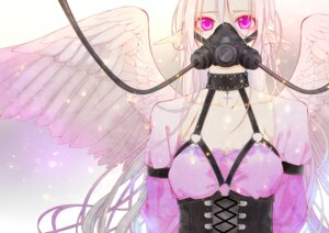 Rating: Safe Score: 31 Tags: cleavage pointy_ears sennro wings User: charunetra