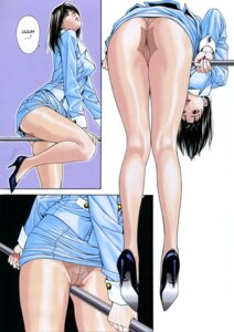 Rating: Explicit Score: 12 Tags: ass business_suit g-taste masturbation pantsu pantyhose skirt_lift thong yagami_hiroki yagisawa_moe User: MDGeist