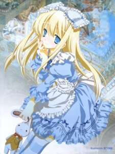 Rating: Safe Score: 52 Tags: alice alice_in_wonderland dress lolita_fashion miyashita_miki thighhighs User: Radioactive