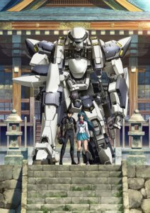 Rating: Safe Score: 20 Tags: bodysuit chidori_kaname digital_version full_metal_panic mecha sagara_sousuke seifuku User: blooregardo