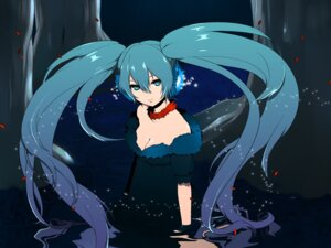 Rating: Safe Score: 31 Tags: cleavage hatsune_miku kurono_yuu vocaloid User: Nekotsúh