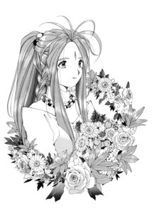 Rating: Safe Score: 13 Tags: ah_my_goddess belldandy fixed fujishima_kousuke monochrome User: fatmangoth
