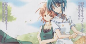 Rating: Safe Score: 3 Tags: aoi_nagisa maki_chitose ootori_amane seifuku strawberry_panic User: Radioactive