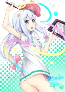 Rating: Safe Score: 55 Tags: ass eromanga-sensei izumi_sagiri kureha_(tomo-yuki) meruru pantsu string_panties User: Mr_GT