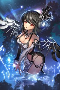Rating: Questionable Score: 88 Tags: chaos cleavage devil_maker:_tokyo no_bra pantsu rheez wet wings User: charunetra