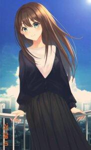 Rating: Safe Score: 10 Tags: bosumonki shibuya_rin sweater the_idolm@ster the_idolm@ster_cinderella_girls User: Dreista