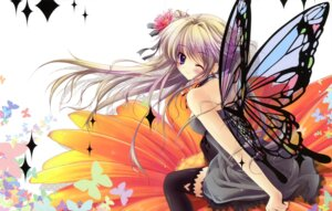 Rating: Safe Score: 119 Tags: dress fairy fixed hisuitei izumi_tsubasu thighhighs wings User: Drich007
