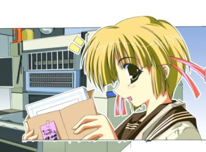 Rating: Safe Score: 1 Tags: comic_party inui_sekihiko tsukamoto_chisa User: Radioactive