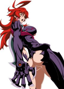 Rating: Questionable Score: 22 Tags: amaha_masane ass weapon witchblade User: boon