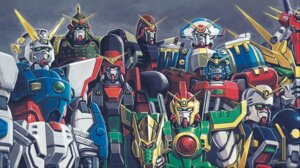 Rating: Safe Score: 6 Tags: g_gundam gundam mecha okawara_kunio User: DDD
