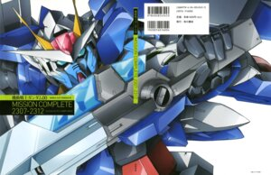 Rating: Safe Score: 6 Tags: 00_raiser gundam gundam_00 mecha sword User: Aurelia
