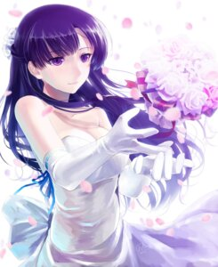 Rating: Safe Score: 74 Tags: dress garter kakumeiki_valvrave okingjo rukino_saki wedding_dress User: dyj