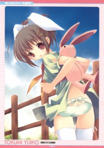 Rating: Questionable Score: 22 Tags: pantsu tokumi_yuiko User: petopeto
