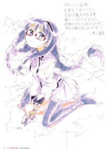 Rating: Safe Score: 12 Tags: akemi_homura megane pantyhose puella_magi_madoka_magica takiyama_masaaki User: Hatsukoi