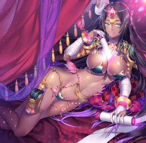 Rating: Questionable Score: 54 Tags: armor bandages bikini_armor caster_of_the_nocturnal_castle cleavage fate/grand_order may_(2747513627) scheherazade_(fate_grand/order) User: mash