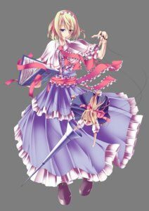 Rating: Safe Score: 14 Tags: alice_margatroid gumitaroo shanghai touhou transparent_png User: charunetra