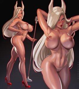 Rating: Explicit Score: 32 Tags: animal_ears boku_no_hero_academia bunny_ears dandon_fuga heels naked nipples pussy uncensored usagiyama_rumi User: Spidey