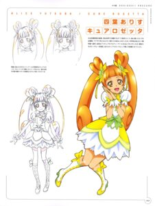 Rating: Questionable Score: 6 Tags: dokidoki!_precure dress heels pretty_cure sketch takahashi_akira yotsuba_alice User: drop