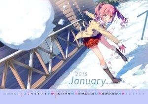 Rating: Safe Score: 103 Tags: 5_nenme_no_houkago calendar kantoku kurumi_(kantoku) User: Hatsukoi