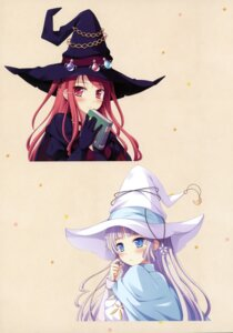 Rating: Safe Score: 38 Tags: dress hinomiya_ayari ko~cha windmill_oasis witch witch's_garden yukimura_suzuno User: WtfCakes