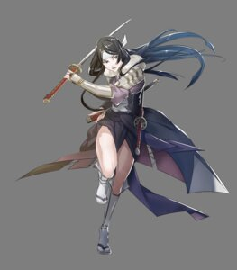 Rating: Questionable Score: 6 Tags: armor fire_emblem fire_emblem_heroes fire_emblem_kakusei japanese_clothes nintendo sairi sword yura User: fly24