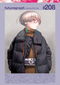 Rating: Safe Score: 9 Tags: mecha_musume range_murata sweater tagme User: Poiness