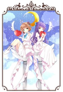 Rating: Safe Score: 26 Tags: card_captor_sakura daidouji_tomoyo kinomoto_sakura tsukiyo_(skymint) User: animeprincess