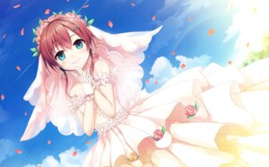 Rating: Safe Score: 46 Tags: cura dress lose maitetsu migita_hibiki wedding_dress User: Twinsenzw