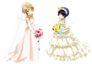 Rating: Safe Score: 51 Tags: dress duplicate gokou_ruri kousaka_kirino ore_no_imouto_ga_konnani_kawaii_wake_ga_nai wedding_dress User: maeno