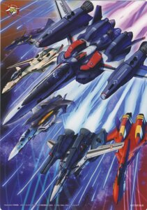 Rating: Safe Score: 4 Tags: macross macross_frontier mecha tagme User: Radioactive