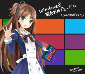 Rating: Safe Score: 24 Tags: madobe_ai microsoft os-tan retoriro User: aihost