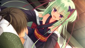 Rating: Safe Score: 51 Tags: game_cg japanese_clothes murasame_(senren_banka) muririn senren_banka yuzu-soft User: Asukakam