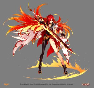 Rating: Safe Score: 32 Tags: elesis elsword sword tagme tattoo thighhighs transparent_png User: Nepcoheart