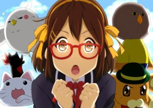Rating: Safe Score: 30 Tags: bonta-kun chitanda_eru chuunibyou_demo_koi_ga_shitai! cosplay crossover dera_mochimazzi free! full_metal_panic hirasawa_yui hyouka k-on! kuriyama_mirai kyoukai_no_kanata lucky_star megane nichijou oku_no_shi sagara_sousuke sakamoto seifuku suzumiya_haruhi suzumiya_haruhi_no_yuuutsu tamako_market User: aihost