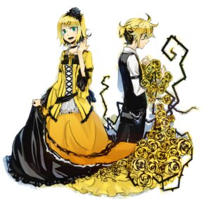 Rating: Safe Score: 11 Tags: aku_no_meshitsukai_(vocaloid) dress hizuki kagamine_len kagamine_rin vocaloid User: Radioactive