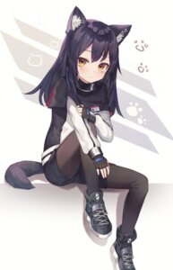 Rating: Safe Score: 32 Tags: animal_ears arknights nam pantyhose tail texas_(arknights) User: Arsy