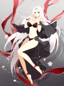 Rating: Safe Score: 69 Tags: bikini cleavage fate/stay_night fate/zero feet gekka_nanako irisviel_von_einzbern see_through swimsuits User: charunetra