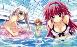 Rating: Questionable Score: 120 Tags: asaba_konami bikini cleavage erect_nipples ichinose_mio_(koi_ga_saku_koro_sakura_doki) izumi_tsubasu jinpou_an koi_ga_saku_koro_sakura_doki palette swimsuits User: wlx533633733