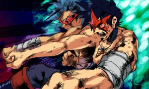 Rating: Safe Score: 9 Tags: kamina simon tengen_toppa_gurren_lagann User: Greatley