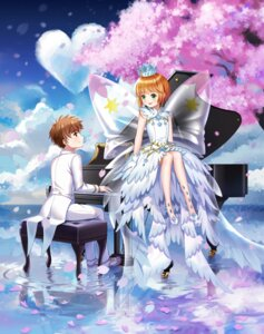 Rating: Safe Score: 16 Tags: card_captor_sakura dress heavenlove kinomoto_sakura li_syaoran User: Mr_GT